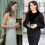 Meghan and Kate's First Solo Outings Were Totally Different, but They Were Both Equally Stunning