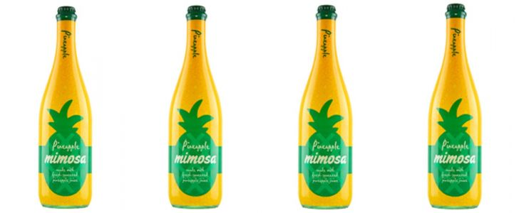 Mark Your Calendars - Aldi Is Bringing Back Its $9 Bottled Mimosa in a Pineapple Flavor!