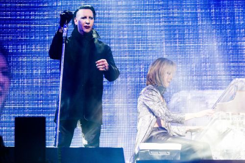 """Watch Marilyn Manson Join X Japan For """"Sweet Dreams"""" At Coachella"""