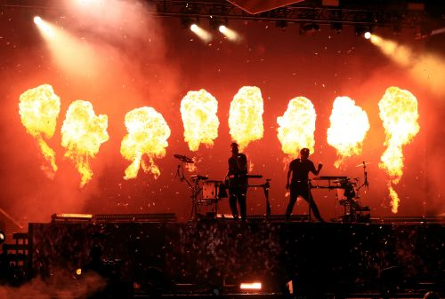 Odesza's Fireworks Hit Fans At Life Is Beautiful