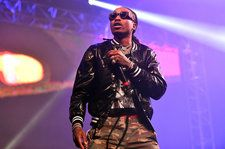 Migos' Quavo and Offset Join DJ Khaled on Stage in Detroit