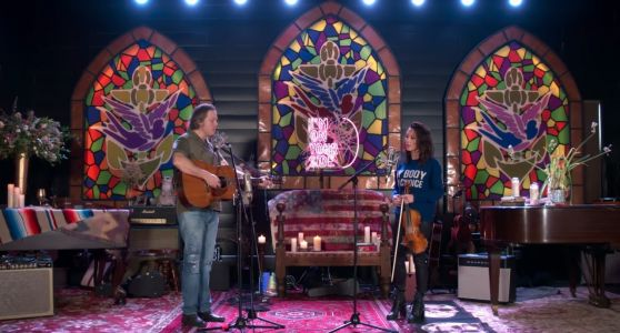 "Watch Amanda Shires & Jason Isbell Play ""The Problem"" On Fallon"