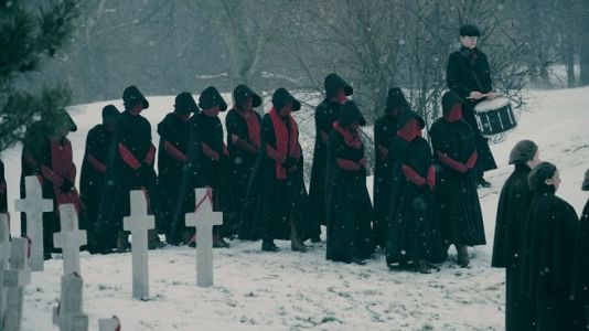 Here's our first look at The Handmaid's Tale season two, which arrives on Hulu in April