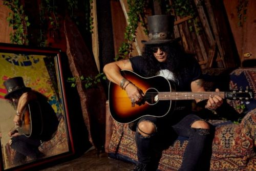 SLASH: 'Victoria' Les Paul Standard Goldtop Guitar Joins Gibson Slash Collection