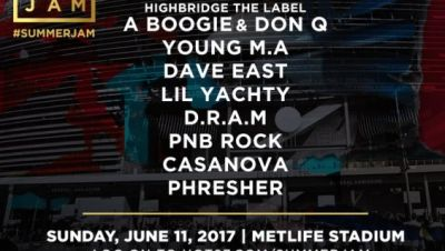 HOT 97 Summer Jam 2017 Festival Stage Announcement