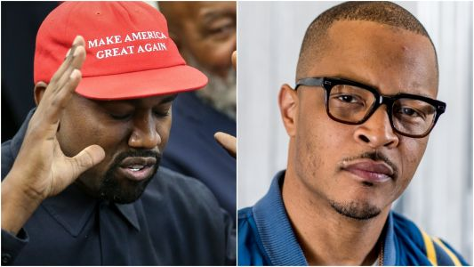 """T.I. Disavows Kanye West: """"I'm Ashamed to Have Ever Been Associated with You"""""""