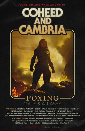 COHEED AND CAMBRIA Announces February 2019 U.S. Tour