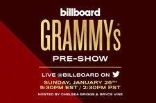 Watch the Billboard Grammys Pre-Show