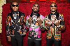 Migos Ad Lib to Neil Diamond, Rap Cardi's 'MotorSport' Verse, Take James Corden Shopping on 'Carpool Karaoke': Watch