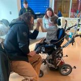 "See Sweet Photos of Jason Momoa ""Spreading Aloha"" During a Recent Children's Hospital Visit"