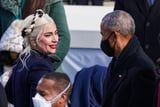What Did Lady Gaga and Obama Casually Chat About at the Inauguration? An Investigation