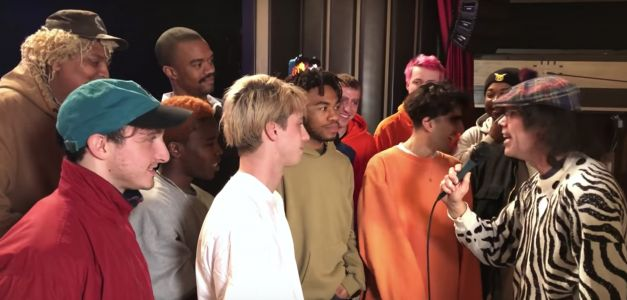 Put Nardwuar's BROCKHAMPTON Interview In a Museum Immediately
