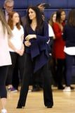 Meghan Markle's Latest Look Is a Lesson on How to Wear Navy and Black Together