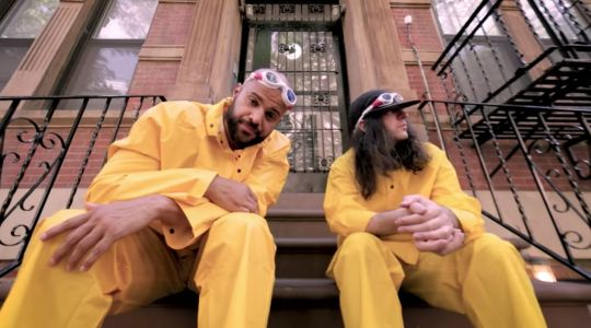 "Homeboy Sandman & Edan - ""The Gut"" Video"