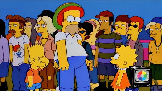 With 'Homerpalooza,' 'The Simpsons' Made Being Too Old to Rock Cool