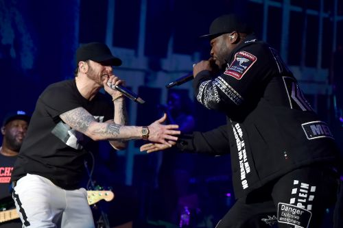 Watch Eminem Perform With Dr. Dre & 50 Cent At Coachella
