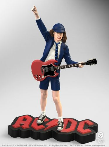 New ANGUS YOUNG 'Rock Iconz' Statue Coming Soon