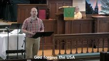 Church Minister Turns 'God Bless The USA' Into 'God Forgive The USA'