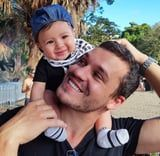 We're Not Sure What It Is About These Dads With Kids on Their Shoulders, but We're in Love