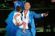John Legend Dances With Luna & Makes a Powerful Statement With Common at Hollywood Bowl Concert