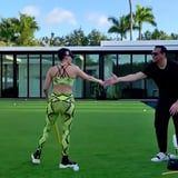 Jennifer Lopez and Alex Rodriguez Turned Their Backyard Into Spring Training With the Kids