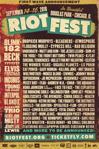Win VIP Passes to Riot Fest 2018