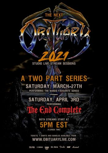OBITUARY To Perform Entire 'The End Complete' Album During Livestream