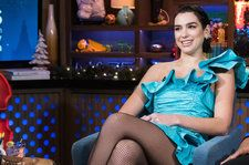 Dua Lipa Reveals She Collaborated With Ariana Grande, Squashes Taylor Swift Feud Rumors On 'WWHL'