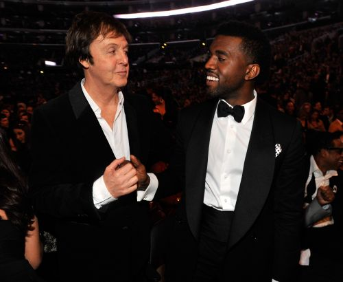 """Paul McCartney On Co-Writing """"FourFiveSeconds:"""" """"I Was Tootling Around On Guitar, And Kanye Spent A Lot Of Time Just Looking At Pictures Of Kim"""""""