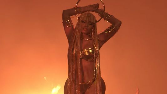 Nicki Minaj's New Video Is a Fiery Resurrection