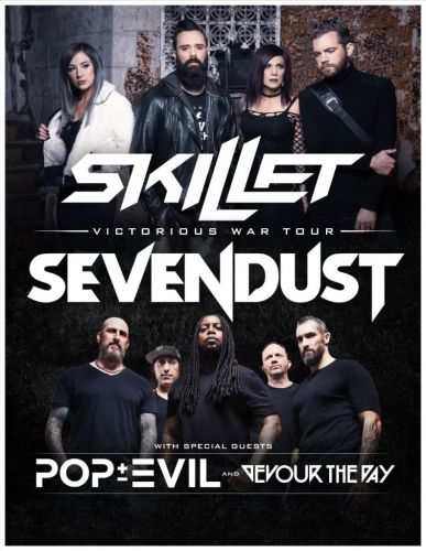 Skillet and Sevendust announce co-headlining summer 2019 US tour