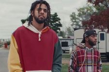 6LACK & J. Cole Let Their Guard Down in New 'Pretty Little Fears' Video: Watch