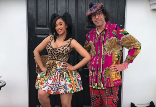 Watch Nardwuar Interview Cardi B At Coachella