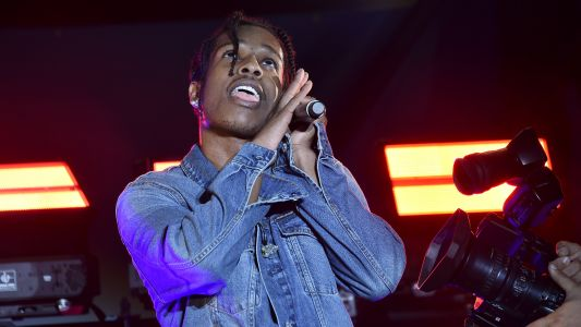 "A$AP Rocky Needs a $100,000 Bed Because He ""Has a Lot of Orgies"""