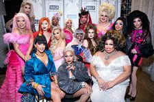 'Drag Race' Season 11 Queens Meet 'The Prom' Broadway Cast: See the Photo
