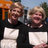 It's James Corden vs. Allison Janney in This Dramatic Sound of Music Crosswalk Musical