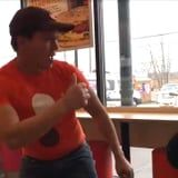 You Can't Not Smile at This Video of a Dunkin' Employee Dancing With a Customer Who Has Autism
