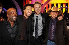 Darius Rucker, Jason Aldean, Luke Bryan and Charles Kelley Close Out the 2018 CMT Music Awards With 'Straight to Hell'