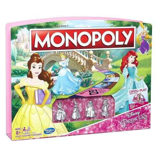Disney Princess Monopoly Exists, So Assemble Your Royal Court and Start Playing!
