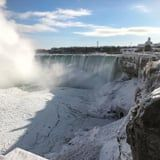 Right Now Would Be a Picturesque Time to Visit Niagara Falls