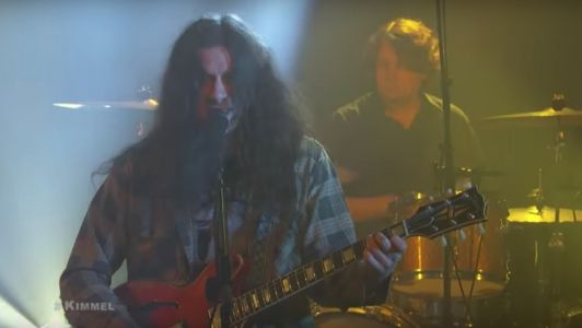 "Watch Kurt Vile Play ""Loading Zones"" On Kimmel"