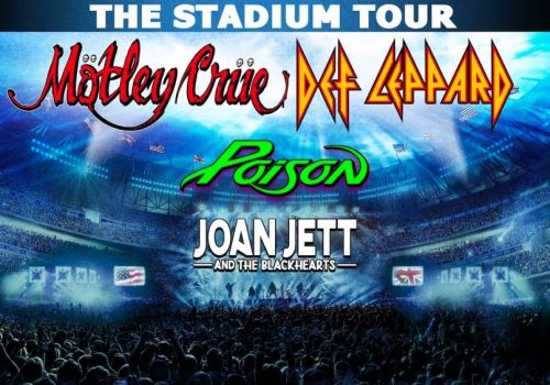 Mötley Crüe announce 2020 US stadium tour with Def Leppard