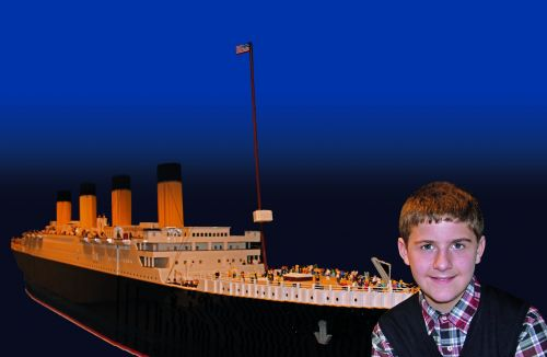 A Boy With Autism Built the World's Largest Titanic Lego Replica, and It's Spectacular
