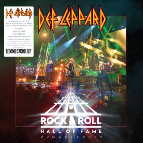 DEF LEPPARD's Performance At ROCK AND ROLL HALL OF FAME To Be Released On Vinyl For 'Record Store Day'