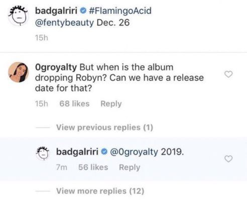Rihanna to release new album in 2019