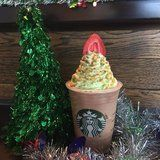 Watching Your Calories? Add the Starbucks Christmas Tree Frappuccino to Your Naughty List