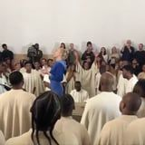 "Sia Joined the Church of Kanye to Perform a Chill-Inducing Gospel Version of ""Elastic Heart"""