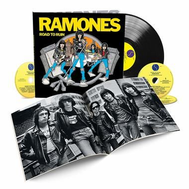 Album Reviews: The Ramones - Road to Ruin , Plus New Music from Johnny & Jaalene, Dave Keller, Permanent Green Light