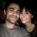 Nina Dobrev Reunites With Paul Wesley and They Still Look Damn Good Together