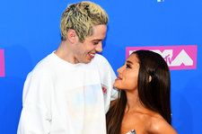 Pete Davidson Gets Ariana Grande's 'Breakfast at Tiffany's' Tattoo on His Neck